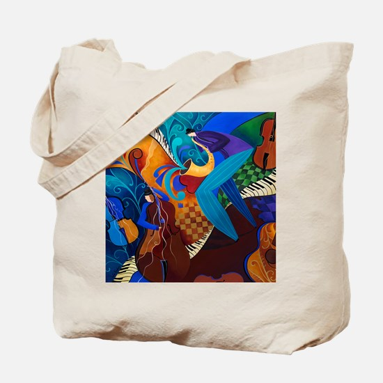 The Music Players Tote Bag