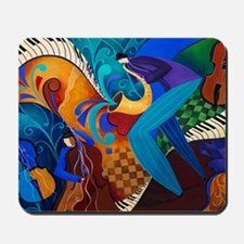 The Music Players Mousepad