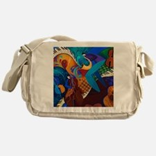 The Music Players Messenger Bag