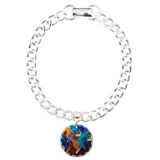 The Music Players Charm Bracelet, One Charm