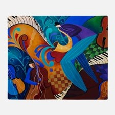 The Music Players Throw Blanket