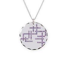 WBC Crossword Puzzle Necklace