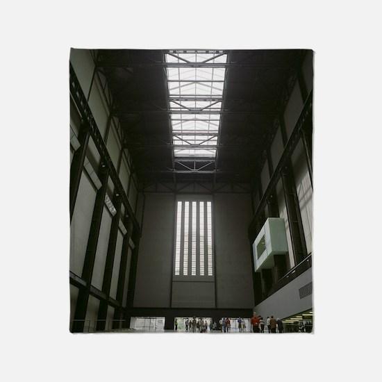 Tate Modern art gallery Throw Blanket