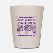 Do You Know Your ABC's? Shot Glass