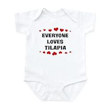 Loves: Tilapia Infant Bodysuit
