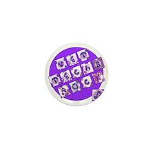 Vet Techs Rock Mini Button