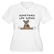 Sock Monkey Humor T-Shirt