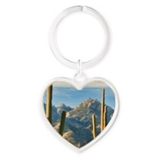 duo vista Heart Keychain