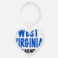 WEST VIRGINIA  MAGNET, funny West V Heart Keychain