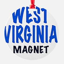 WEST VIRGINIA  MAGNET, funny West V Ornament