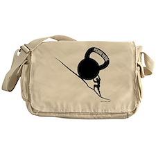 sisyphus Kettlebell Persevere Messenger Bag