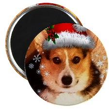 Christmas Banjo Magnet