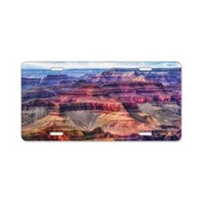 red grand canyon Aluminum License Plate