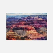 red grand canyon Rectangle Magnet