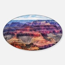 red grand canyon Decal