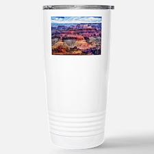 red grand canyon Travel Mug