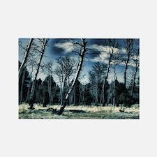 blue forest Rectangle Magnet