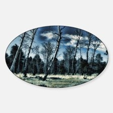 blue forest Decal