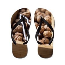 Walnuts Flip Flops