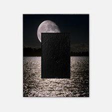 Waning gibbous moon Picture Frame