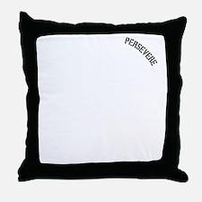 sisyphus Kettlebell Persevere for Dar Throw Pillow