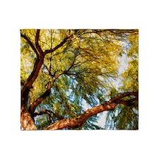 mesquite tree Throw Blanket