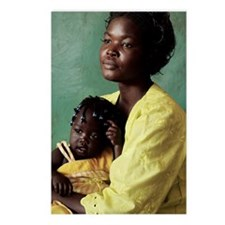 Ugandan mother and child Postcards (Package of 8)