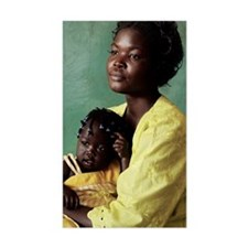 Ugandan mother and child Decal