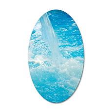 Waterfall 35x21 Oval Wall Decal
