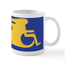 wheelchair-flames-STKR Mug