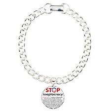 Stop Obama's Ineptocracy Bracelet