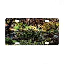 oak creek 2 Aluminum License Plate