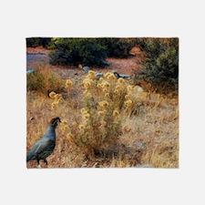 quail Throw Blanket