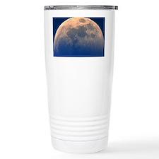 View of a partial lunar Travel Mug