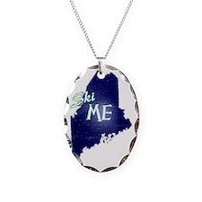 Ski ME Vintage Logo Necklace