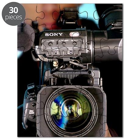 TV camera and cameraman Puzzle