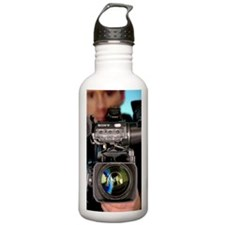 TV camera and camerama Water Bottle