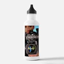TV camera and camerama Water Bottle