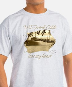 USS FRANK CABLE T-Shirt