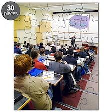 University lecture Puzzle