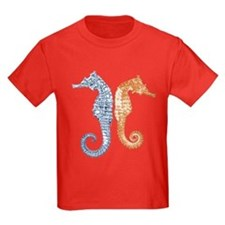 Two Seahorses T