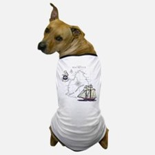 Mauritius Boat Dog T-Shirt