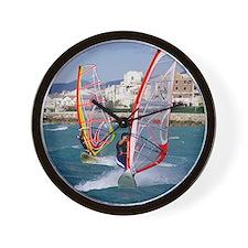 Windsurfing Wall Clock