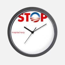 Stop Obama's Ineptocracy Wall Clock