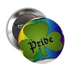 shamrock pride Button