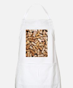 Wine bottle corks Apron