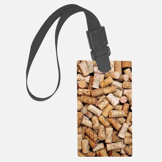 Wine bottle corks Luggage Tag