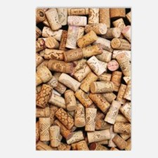 Wine bottle corks Postcards (Package of 8)