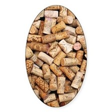 Wine bottle corks Decal