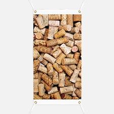 Wine bottle corks Banner